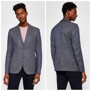 NWT|Ted Baker Cheea Trim Fit Mouline Sport Coat